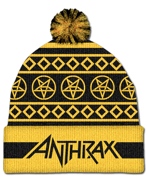 ANTHRAX BOBBLE HAT