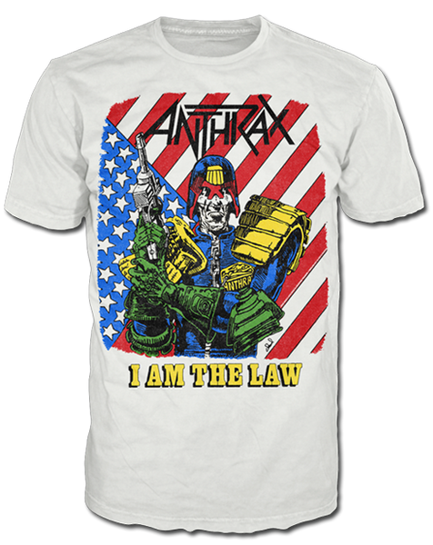 I AM THE LAW VINTAGE TEE - X-Large