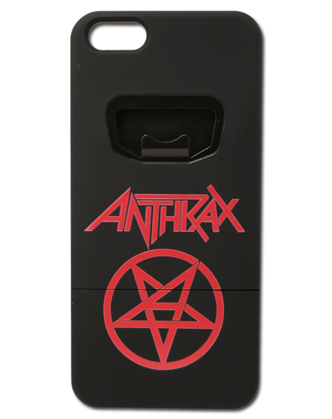 ANTHRAX IPHONE 5 BOTTLE OPENER CASE