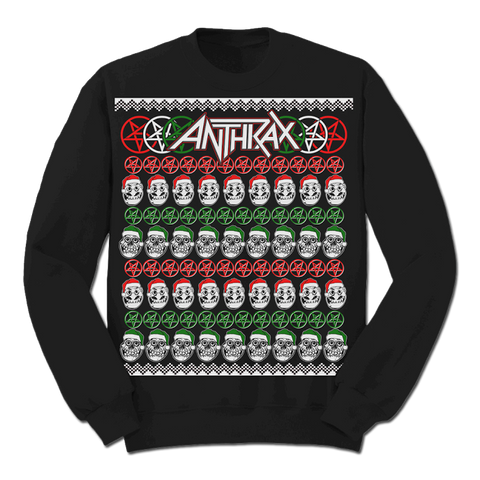 NOTMAN Skulls Christmas Sweater