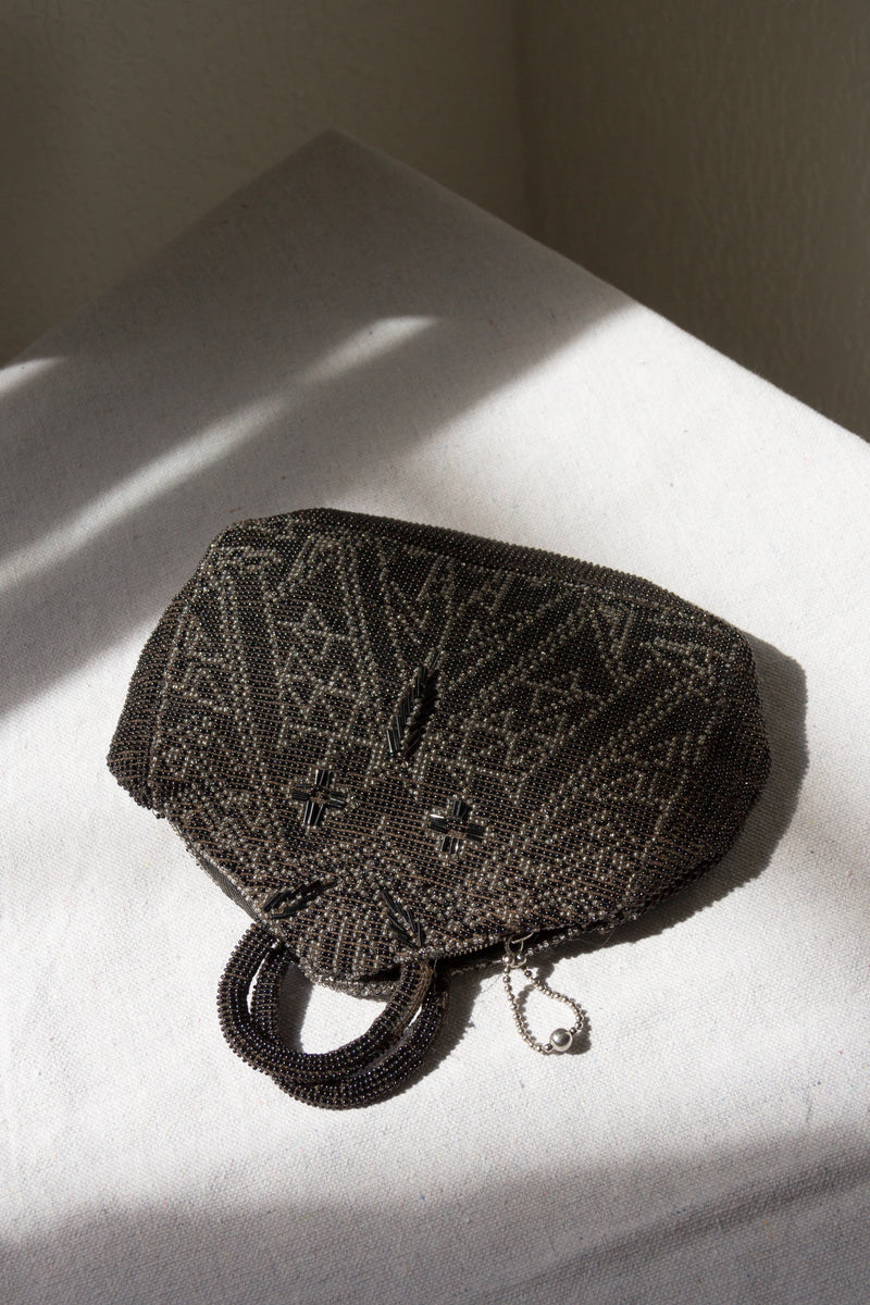 1920s Beaded Deco Mini Bag
