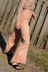 1970s Overdyed Wide Leg Trousers | sz 6