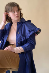 1970s Rothschild Capelet Hooded Coat
