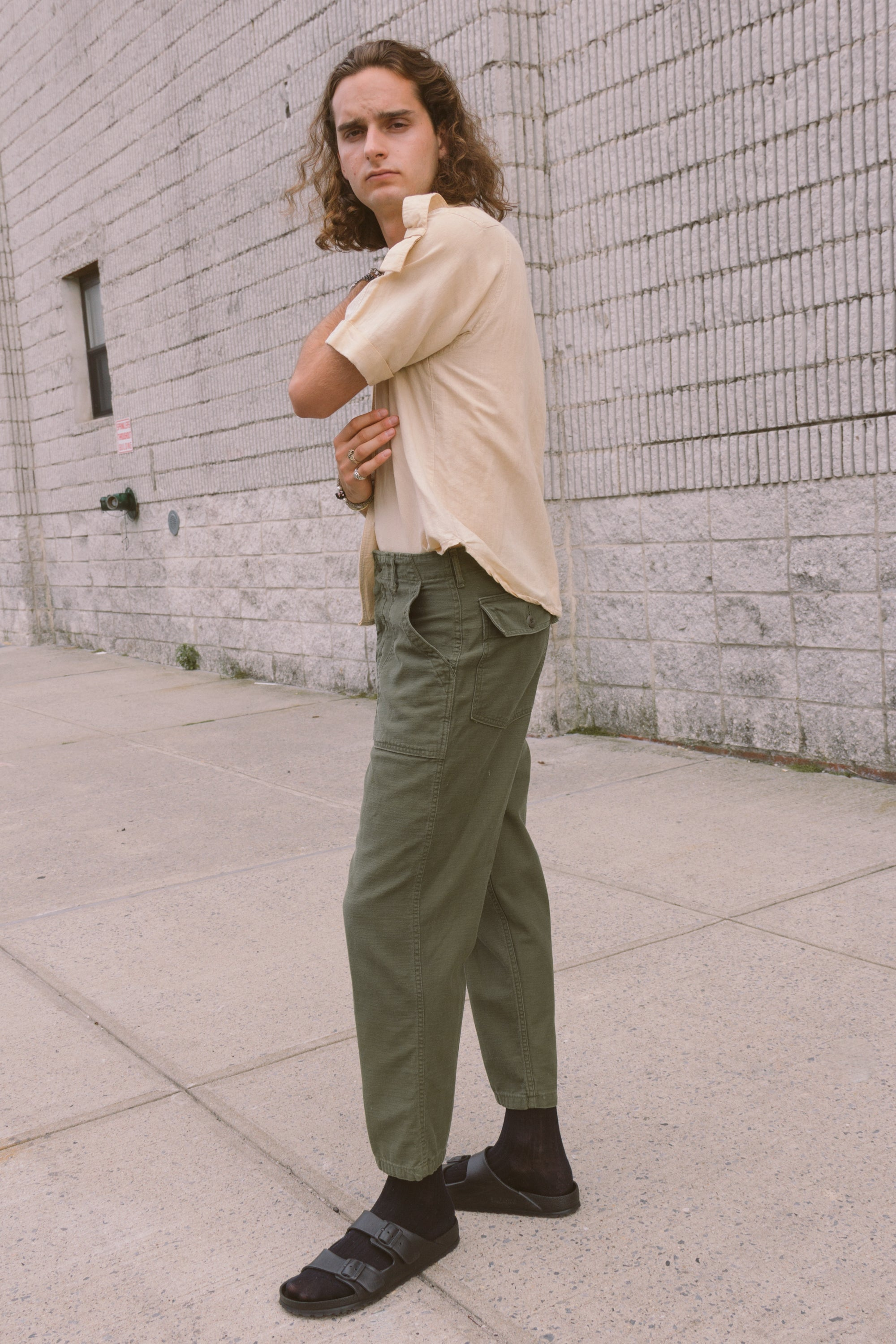 1970s Army Button Fly Field Trousers