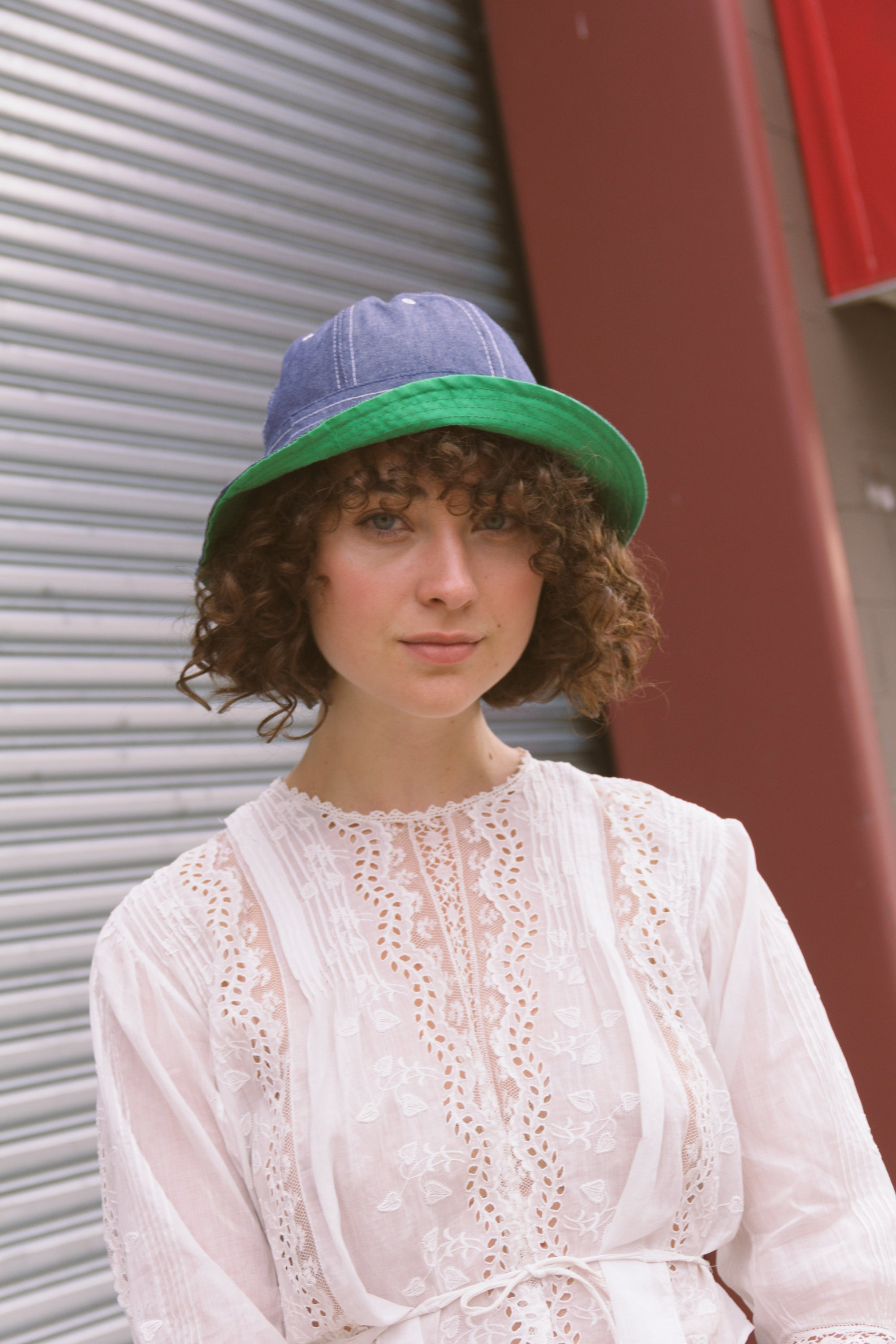 1970s Deadstock Denim Bucket Hat