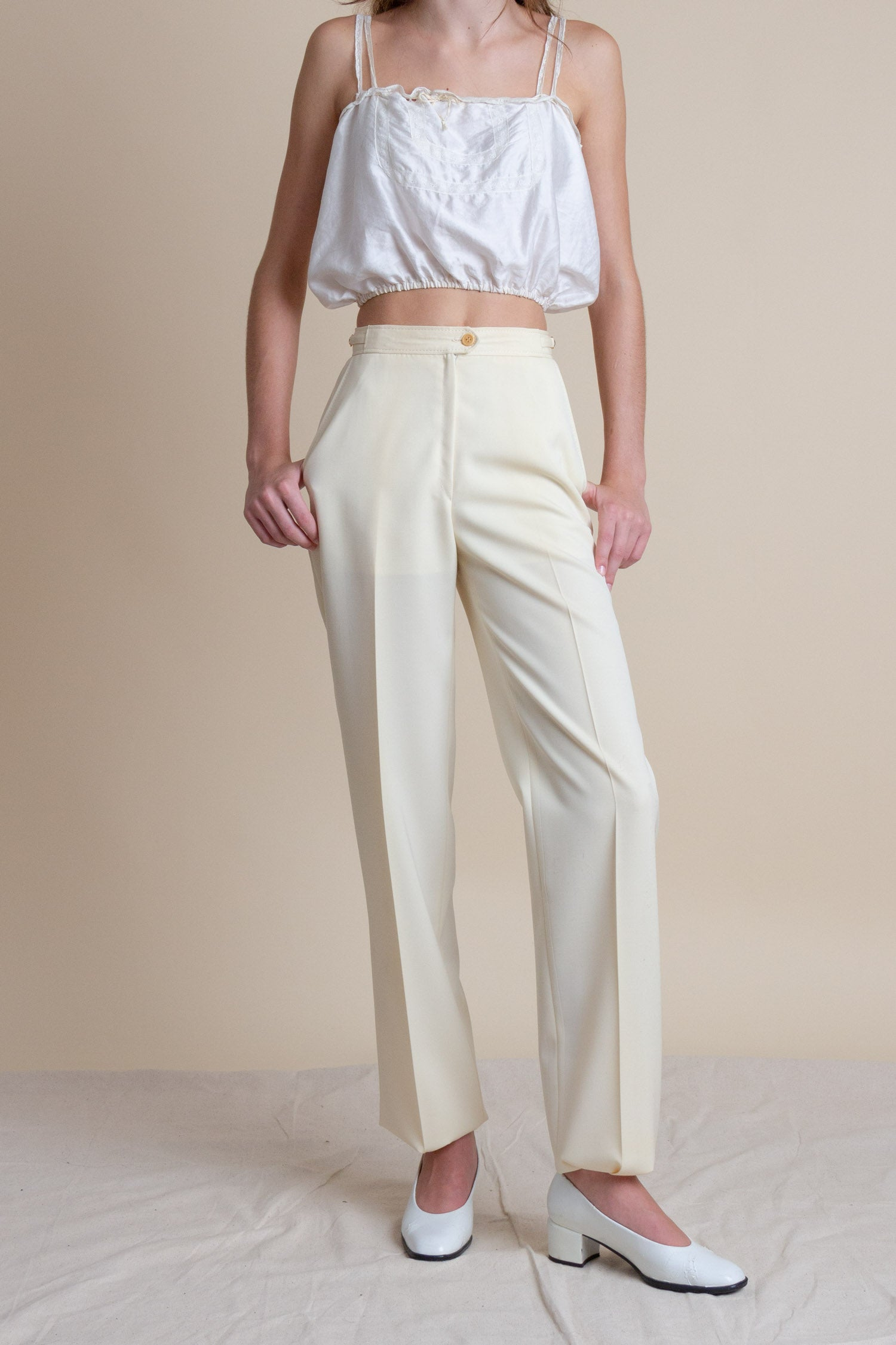 1970s Gucci Wool Trousers | sz 25