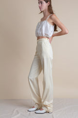1970s Gucci Cream Wool Trousers | sz 25