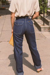 1970s Lee Dark Denim Carpenters | sz 24