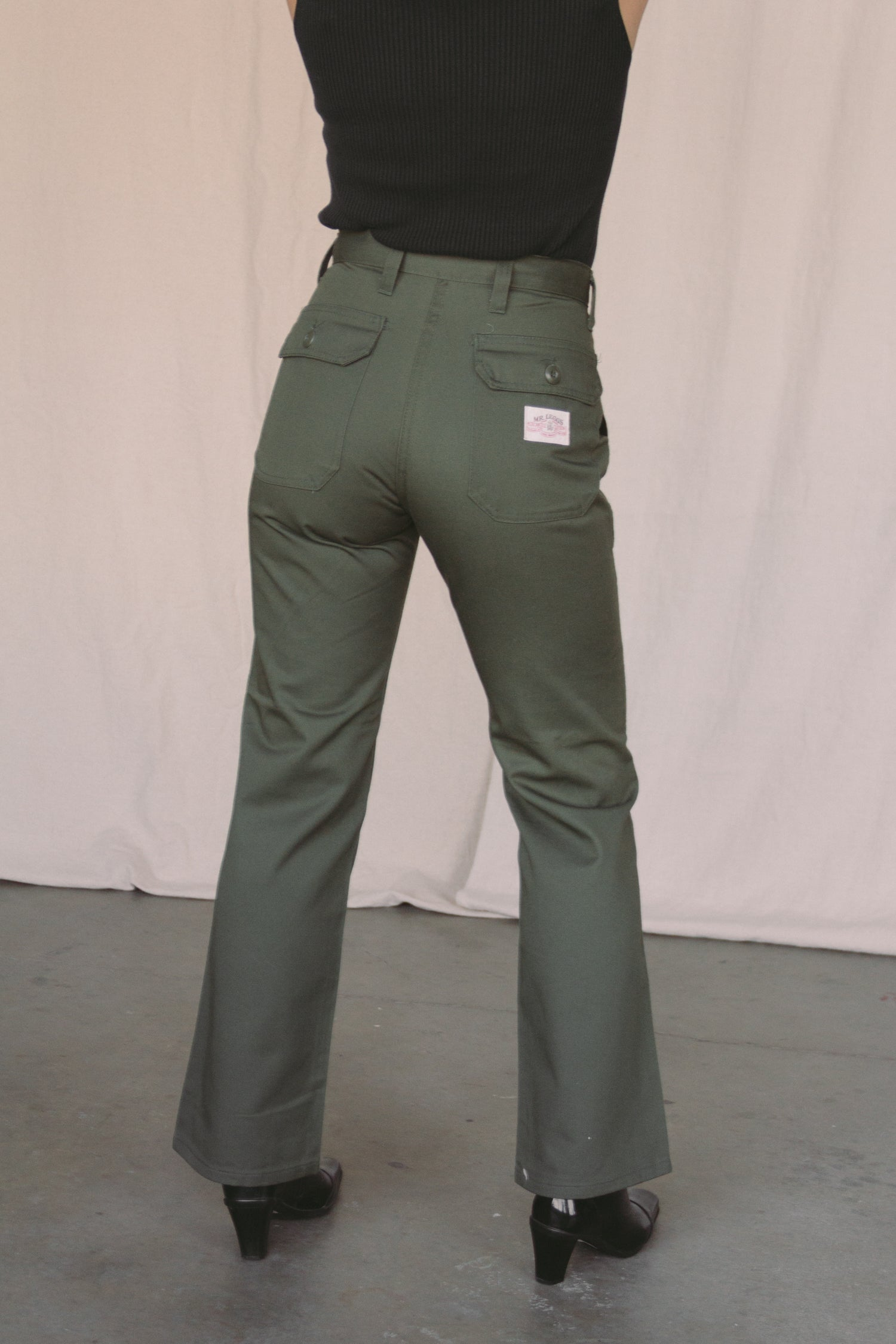 1970s Deadstock Army Twill Carpenters