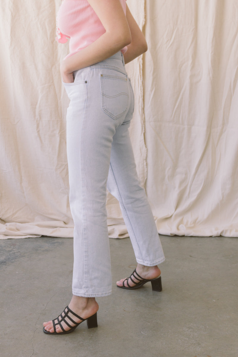 1980s Light Wash Straight Jeans | sz 29