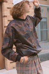 1980s Reversibile Edwardian Putting Pullover