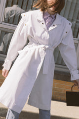 1980s Uzzi Oversized Trench Jacket