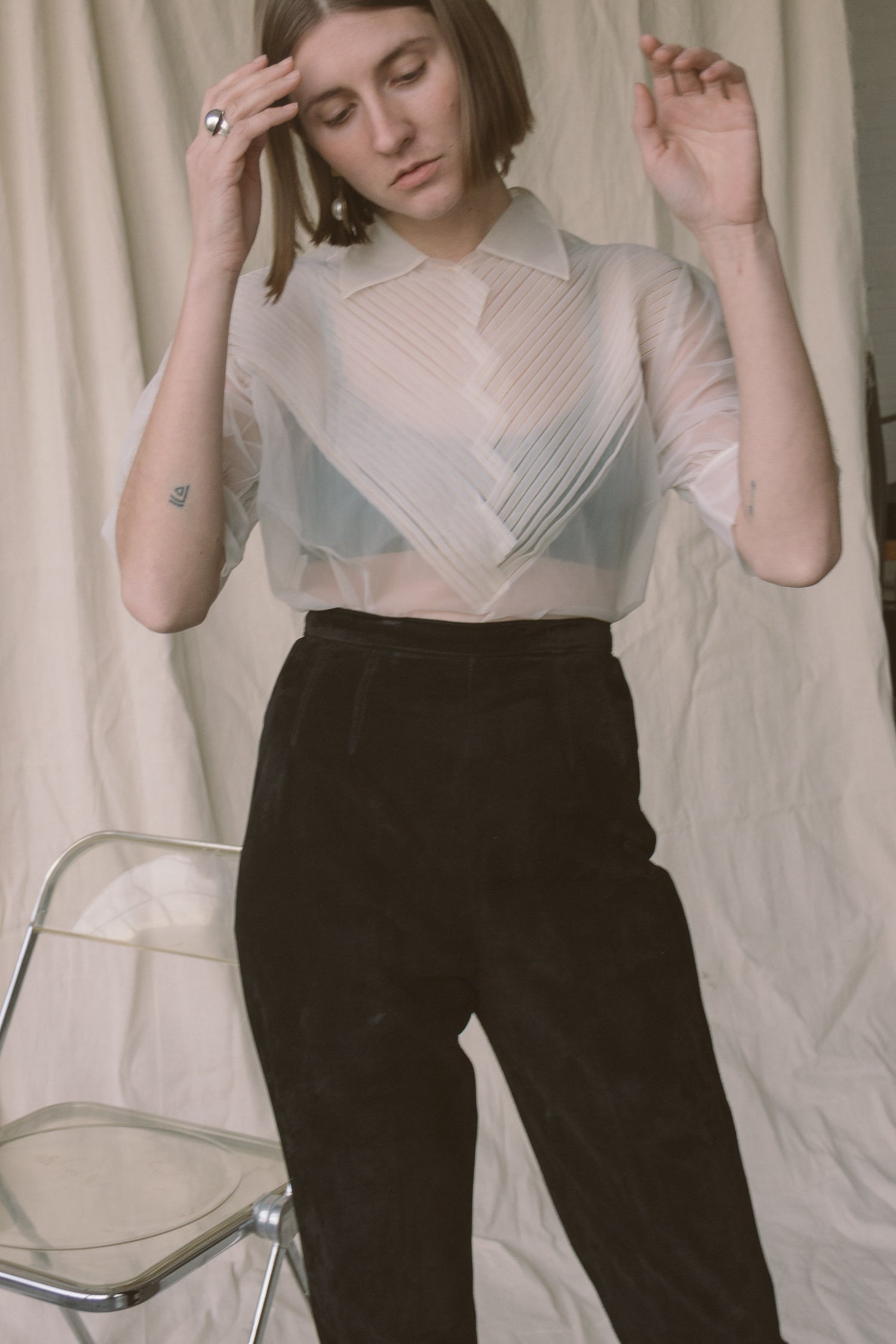 718a43502d What Shirt To Wear With Leather Pants – DACC
