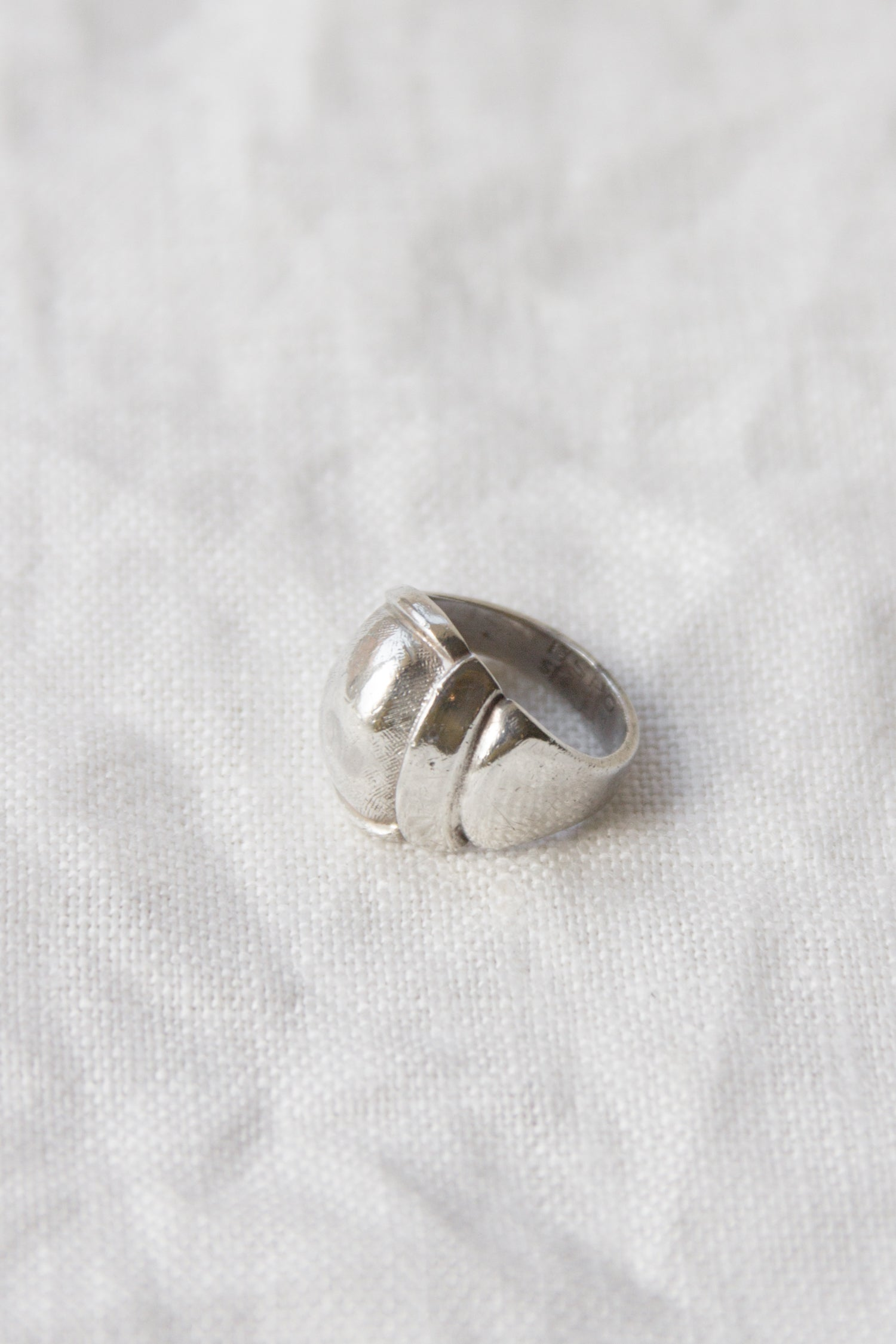 Vintage Bulbous Sterling Ring