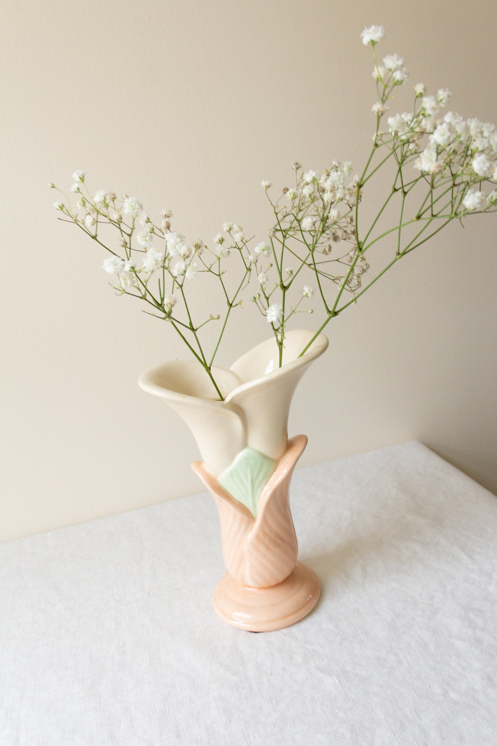 Ceramic Budding Flower Vase