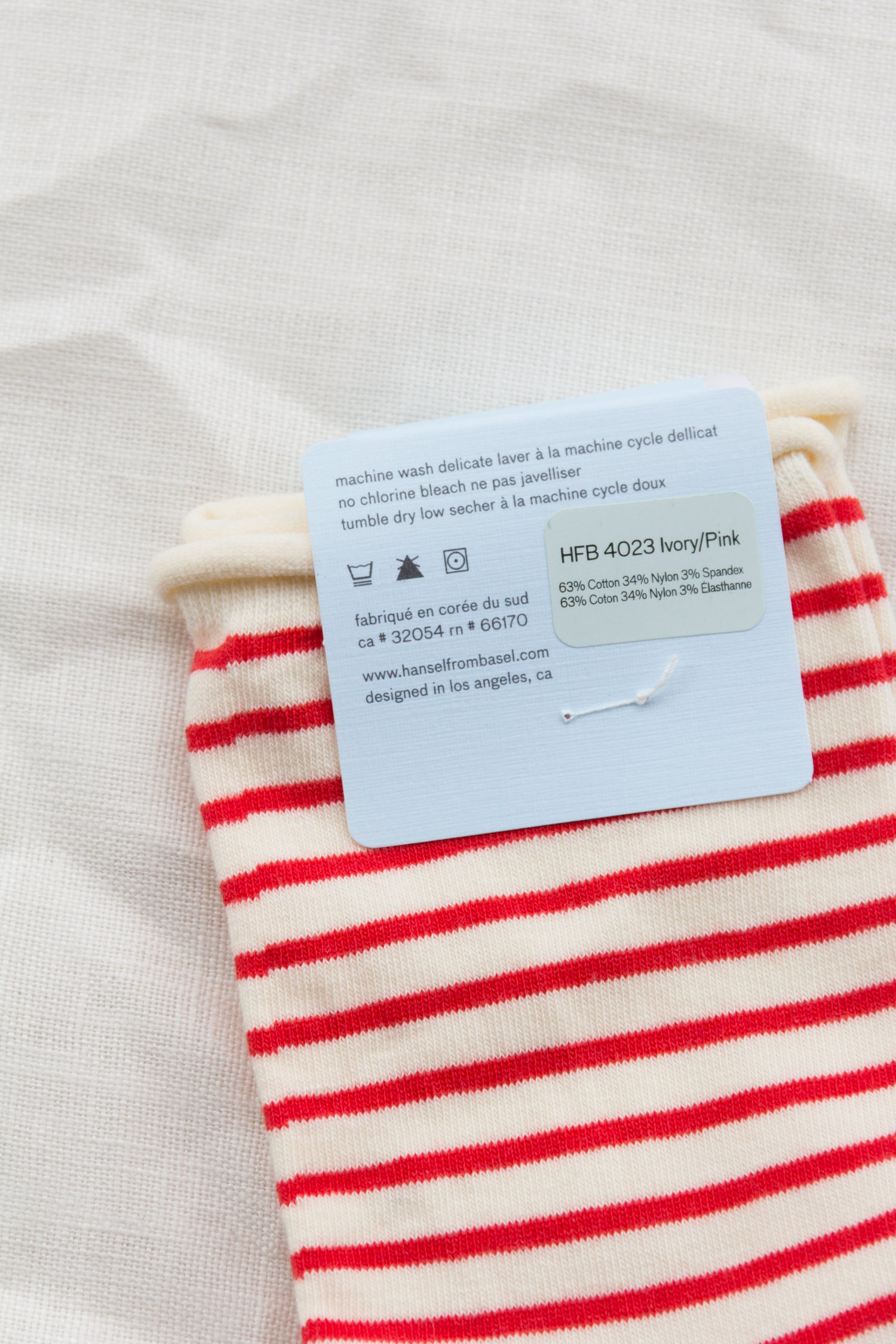 Nautical Stripe Crew / Red