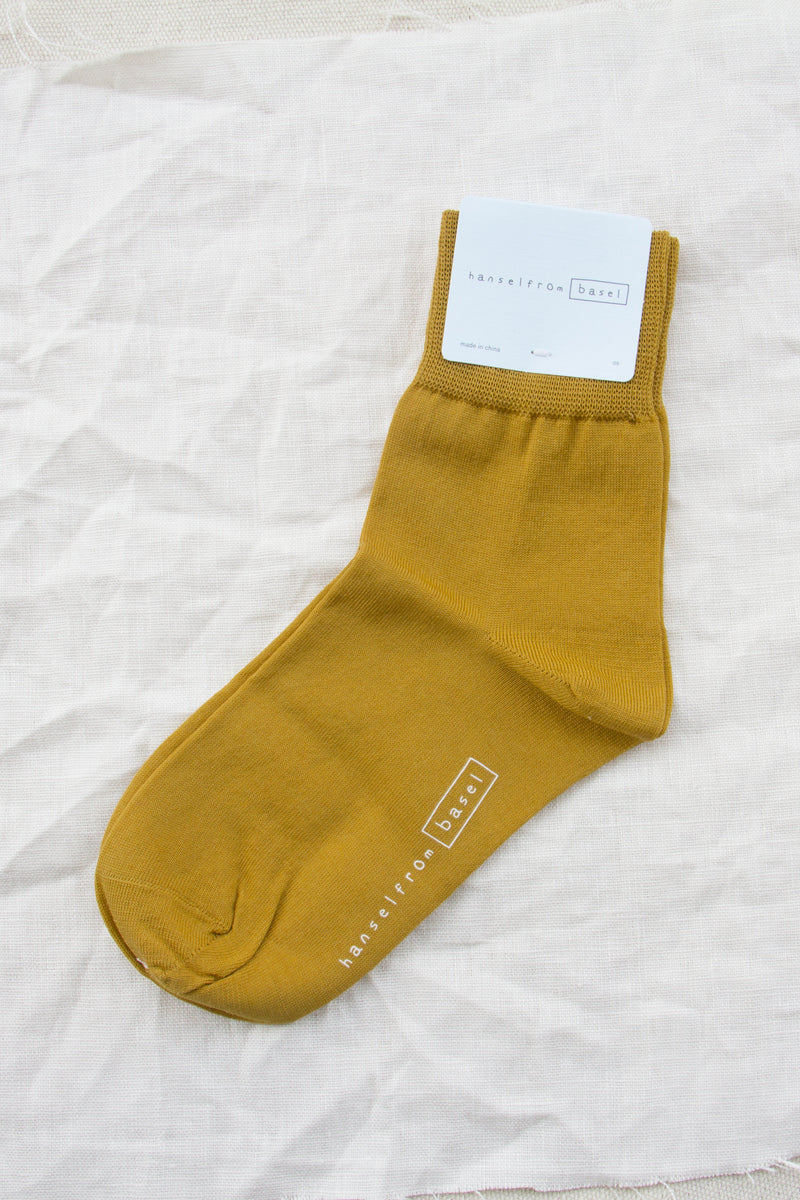 Trouser Crew / Citron