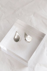 Sterling Large Teardrop Studs