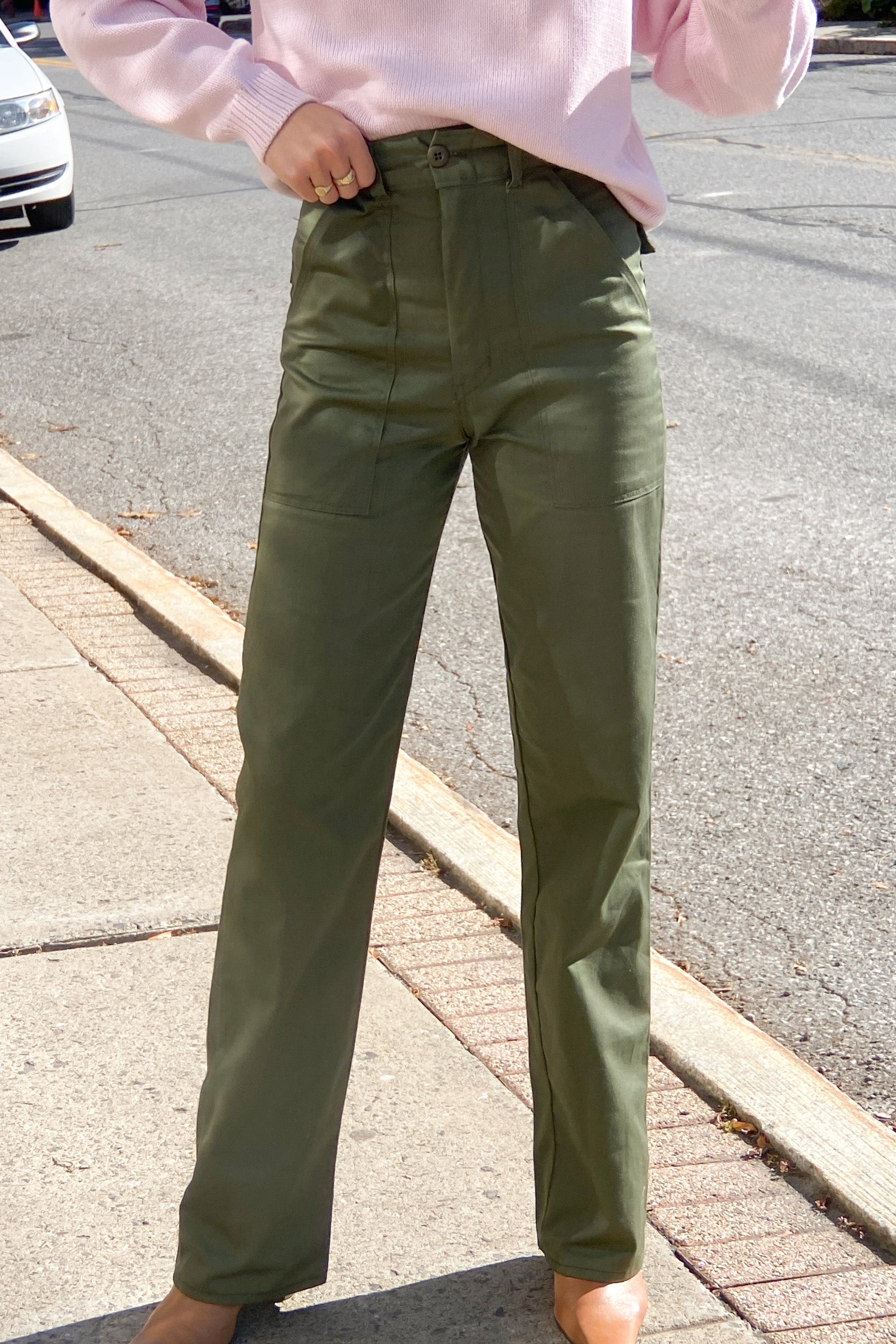 1970s Army Twill Field Trousers