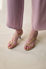 1990s Costume National Suede Sandal | 7
