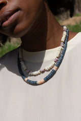1990s Seascape Shell Necklace