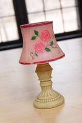 Rose Bedside Lamp Candle
