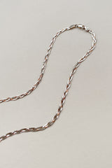 Sterling Braided Chain Necklace
