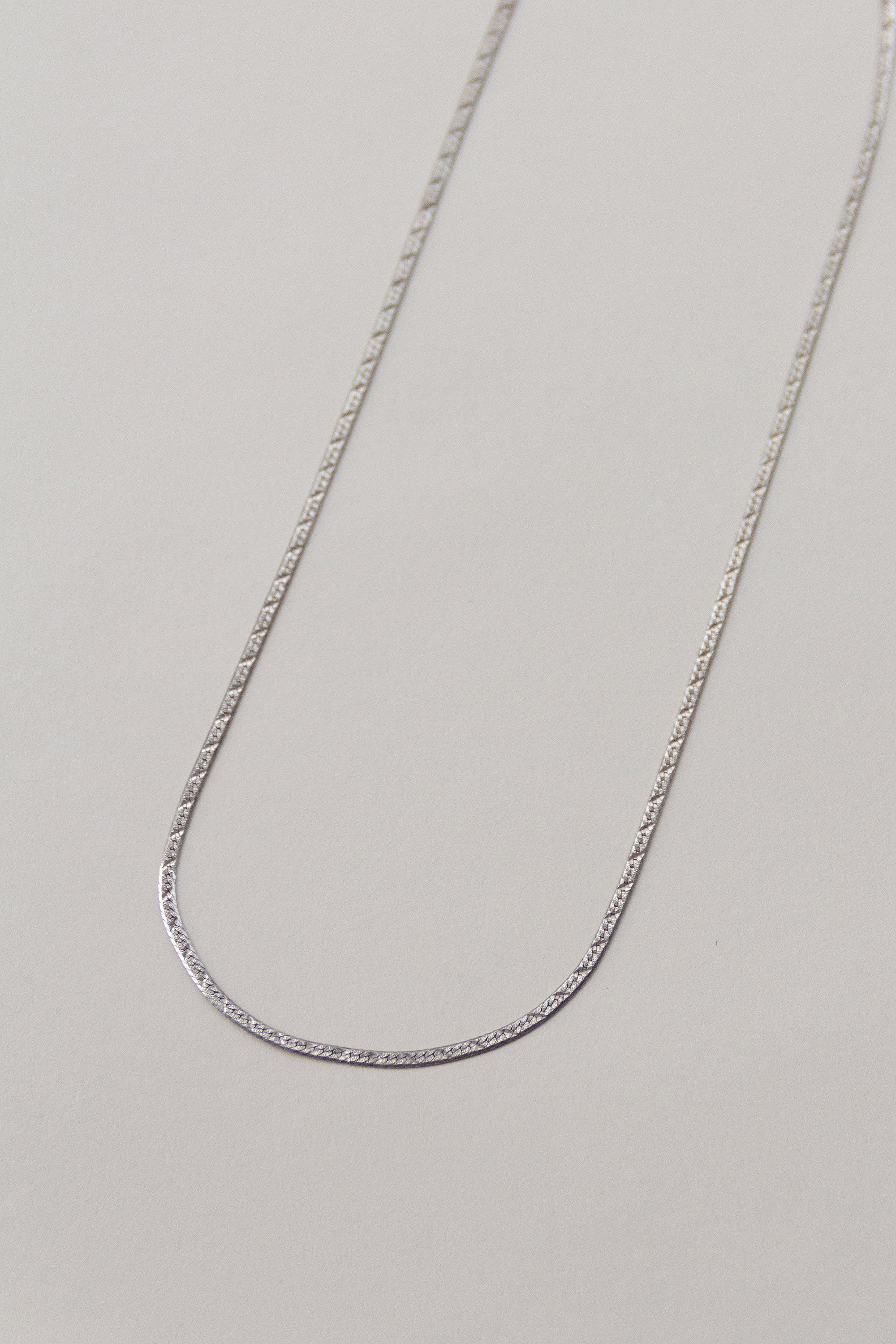 Sterling Herringbone Chain