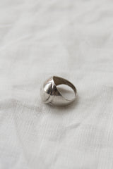 Sterling Silver Wide Wrapped Ring
