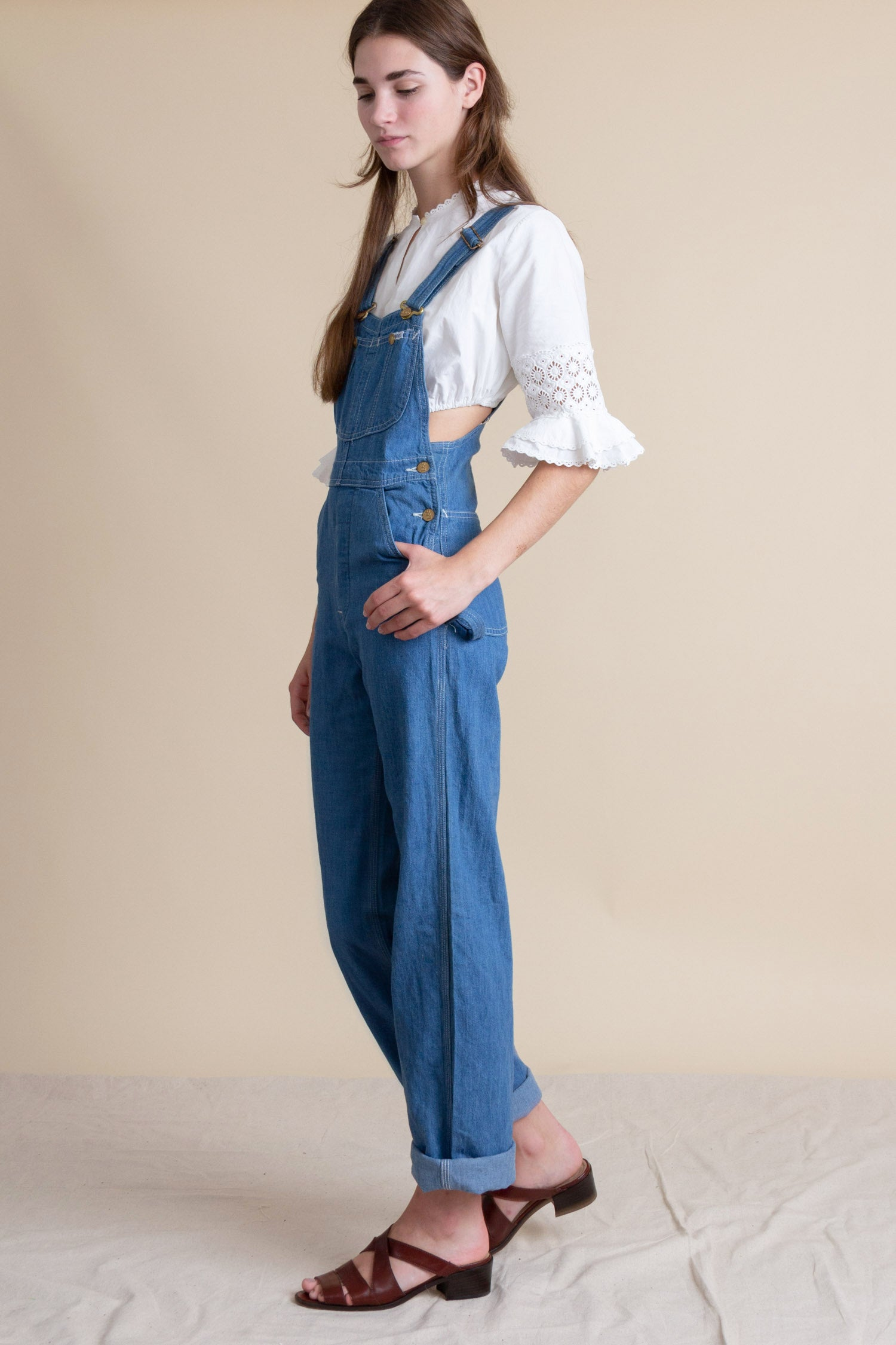 1970s Deadstock Lee Denim Dungarees