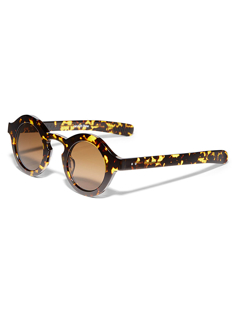 Tortoise Cut Twelve Sunglasses