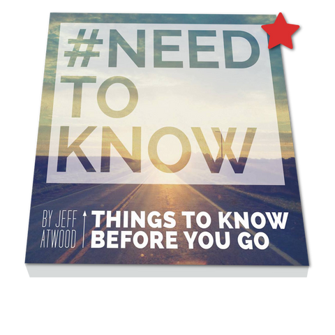 #NEED TO KNOW: SIGNED COPY