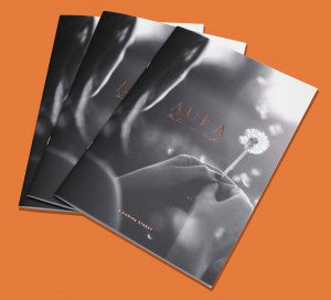Aura A4 saddle stiched brochure web