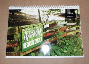 Awarua farm calendar cover web