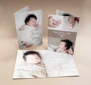 Baby announcement cards 5x7web
