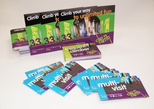 Clip n climb flyers and rewards cards web