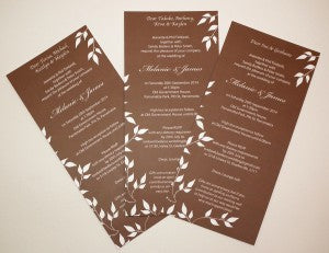 Mel&James dl wedding invitation web
