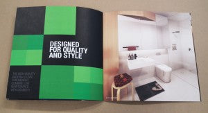 Spectrum square promotional brochure spread 4web