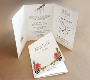 wedding invites trifold 2web