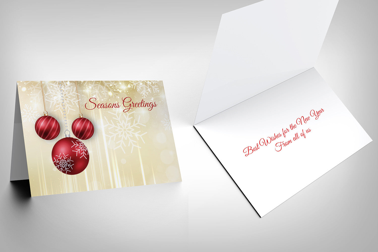 Seasons Greeting Card Design O
