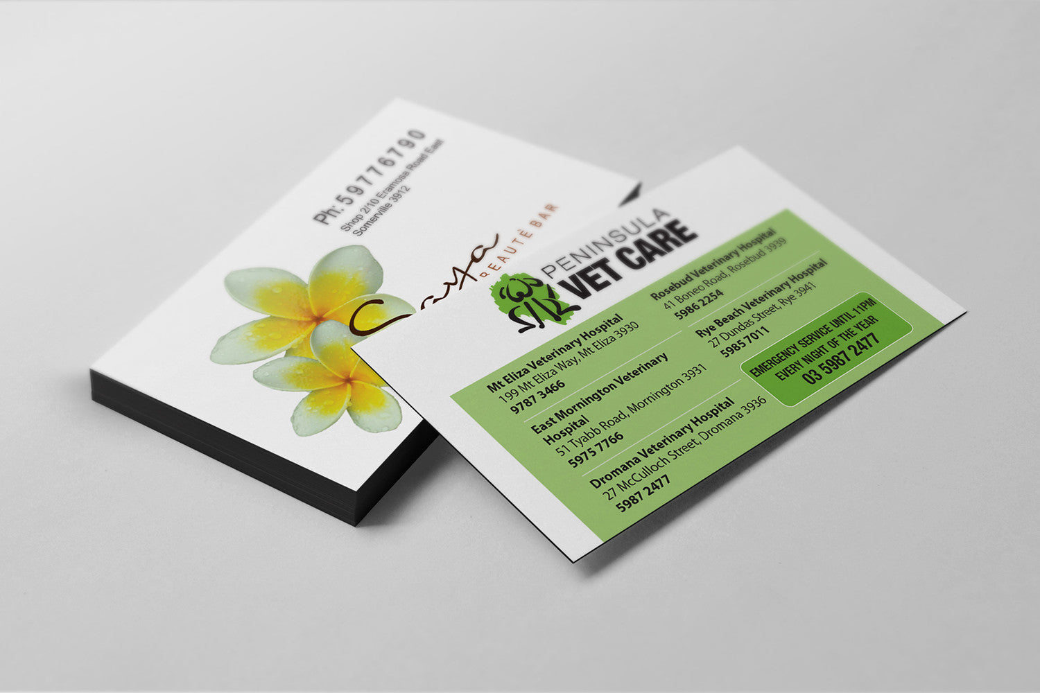 Magnet Business Cards – Composite Colour