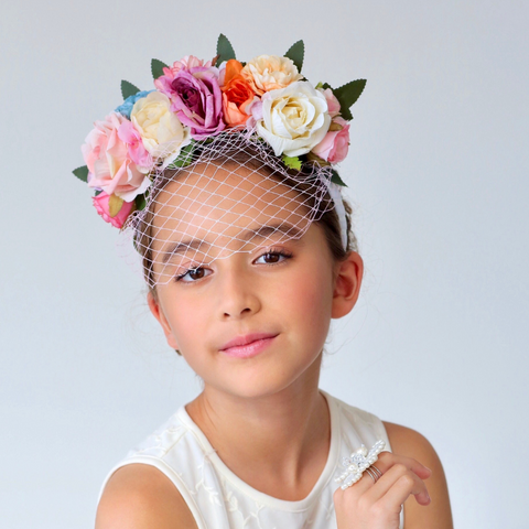 Designer Flower Headpieces by Sienna Likes to Party Accessories