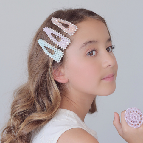 Designer Hair Barrettes by Sienna Likes to Party - The Lady Jane Hair Clip