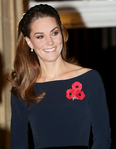 Kate Middleton wearing beaded headband - Sienna Likes to Party Blog