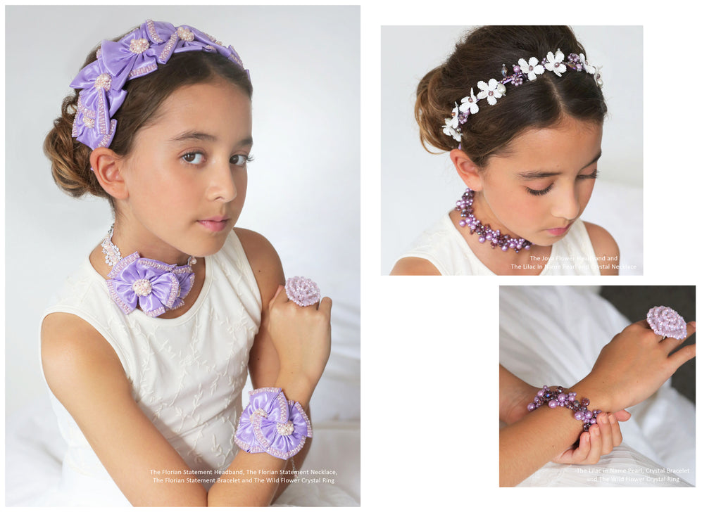 Designer Girls Hair Accessories | Sienna Likes to Party