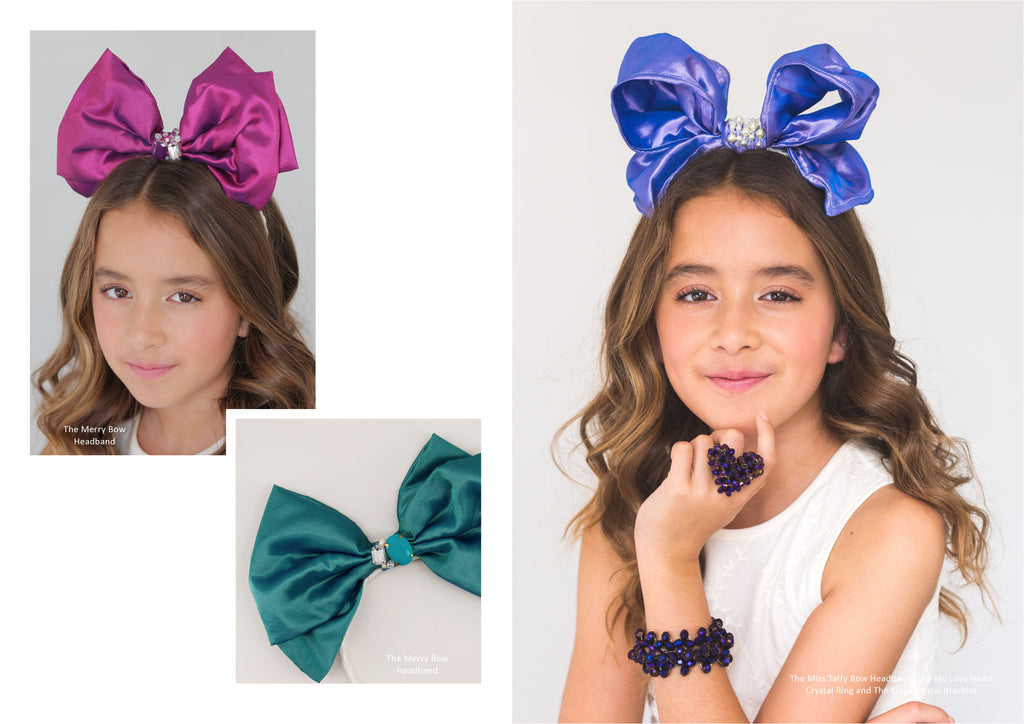 Designer Childrens Hair Bows | Sienna Likes to Party
