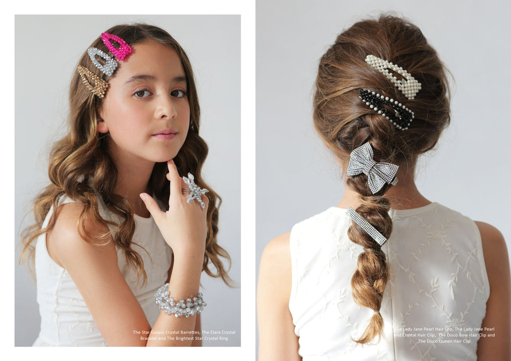 Designer Girls Barrettes | Sienna Likes to Party