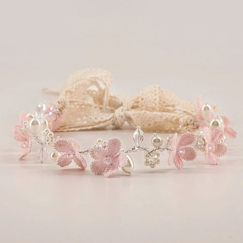 designer flower girl garland