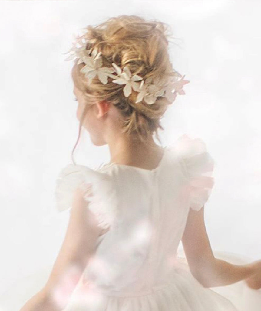 Designer Flower Girl Hair Accessories
