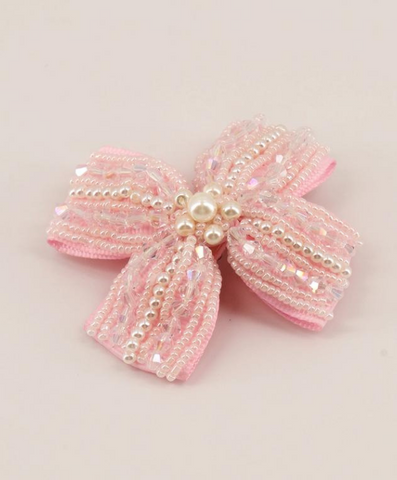 high end pearl hair clips